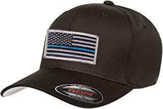 V Cotton Twill Fitted 5001 Thin Blue Line Hat