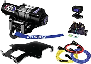 KFI Combo Kit - A2500R2 Winch & Winch Mount - 2003-on Honda Rincon TRX650FA, TRX650FGA, TRX680FA, TRX680FGA