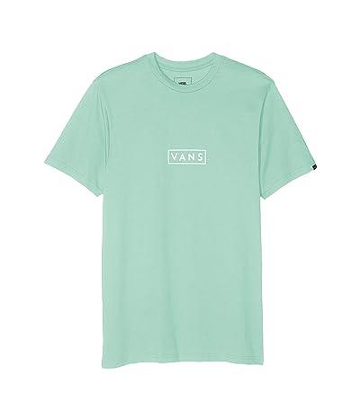 Vans Easy Box Short Sleeve T-Shirt (Dusty Jade Green) Men