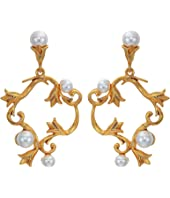 Oscar de la Renta - Pearl Tulip P Earrings