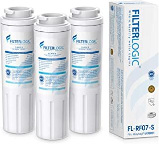 FilterLogic NSF 53&42 Certified UKF8001 Refrigerator Water Filter, Replacement for Maytag UKF8001P, Whirlpool EDR4RXD1, EveryDrop Filter 4, PUR 4396395 Puriclean II, UKF8001AXX-200, 469006 (Pack of 3)