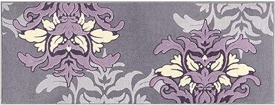 センコー DECORMUSEE サミーラ キッチンマット 約45×120cm グレー 抗菌 防臭 日本製 32223