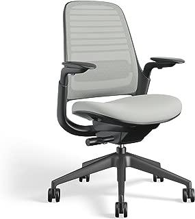 Steelcase 435A00 Series 1 Work Office Chair, Nickel