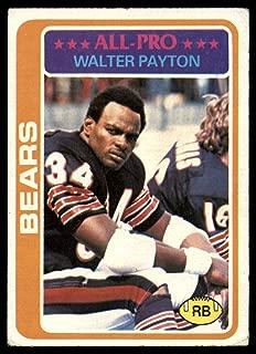 1978 Topps #200 Walter Payton UER Very Good Bears