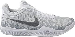 Men's Kobe Mamba Rage Basketball Shoes (10.5, White/Black/Pure Platinum)