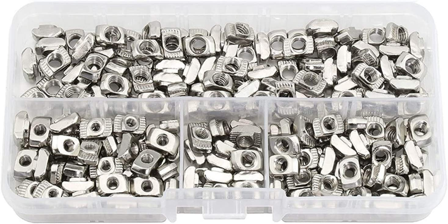 DUO ER 160 Pcs Raleigh Mall T Nuts Slot Outstanding Head A Hammer Fastener for Nut