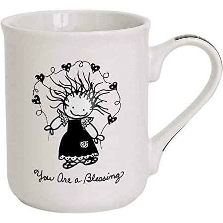 Amazon Com Enesco Children Of The Inner Light You Are A Blessing Coffee Mug 16 Oz Multicolor Coffee Cups Mugs