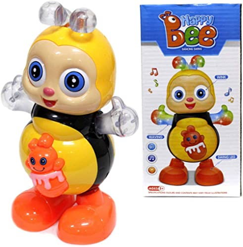 gooyo happy dancing animals bee electronic musical toys for babies with light and sound toys for babies dancing toys ...