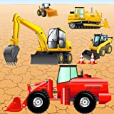 Digger Puzzles for Toddlers and Kids : play with construction vehicles ! Educational Puzzle Games
