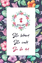 8 Years Sober: Lined Journal / Notebook / Diary - 8th Year of Sobriety - Cute Practical Alternative to a Card - Sobriety Gifts For Women Who Are 8 yr Sober - She Believed She Could So She Did
