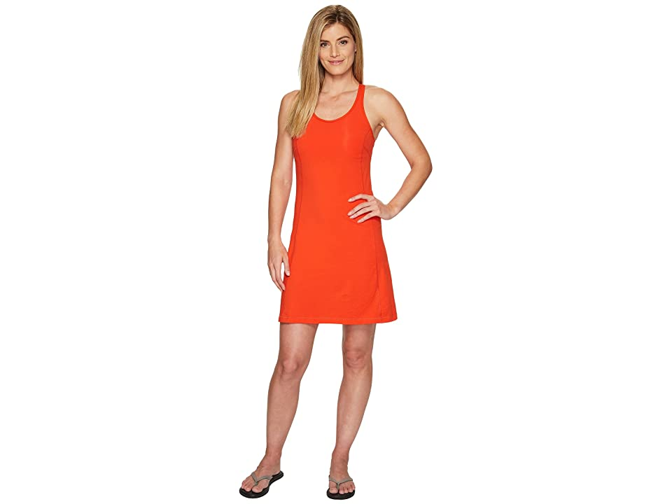 Fjallraven High Coast Strap Dress (Flame Orange) Women