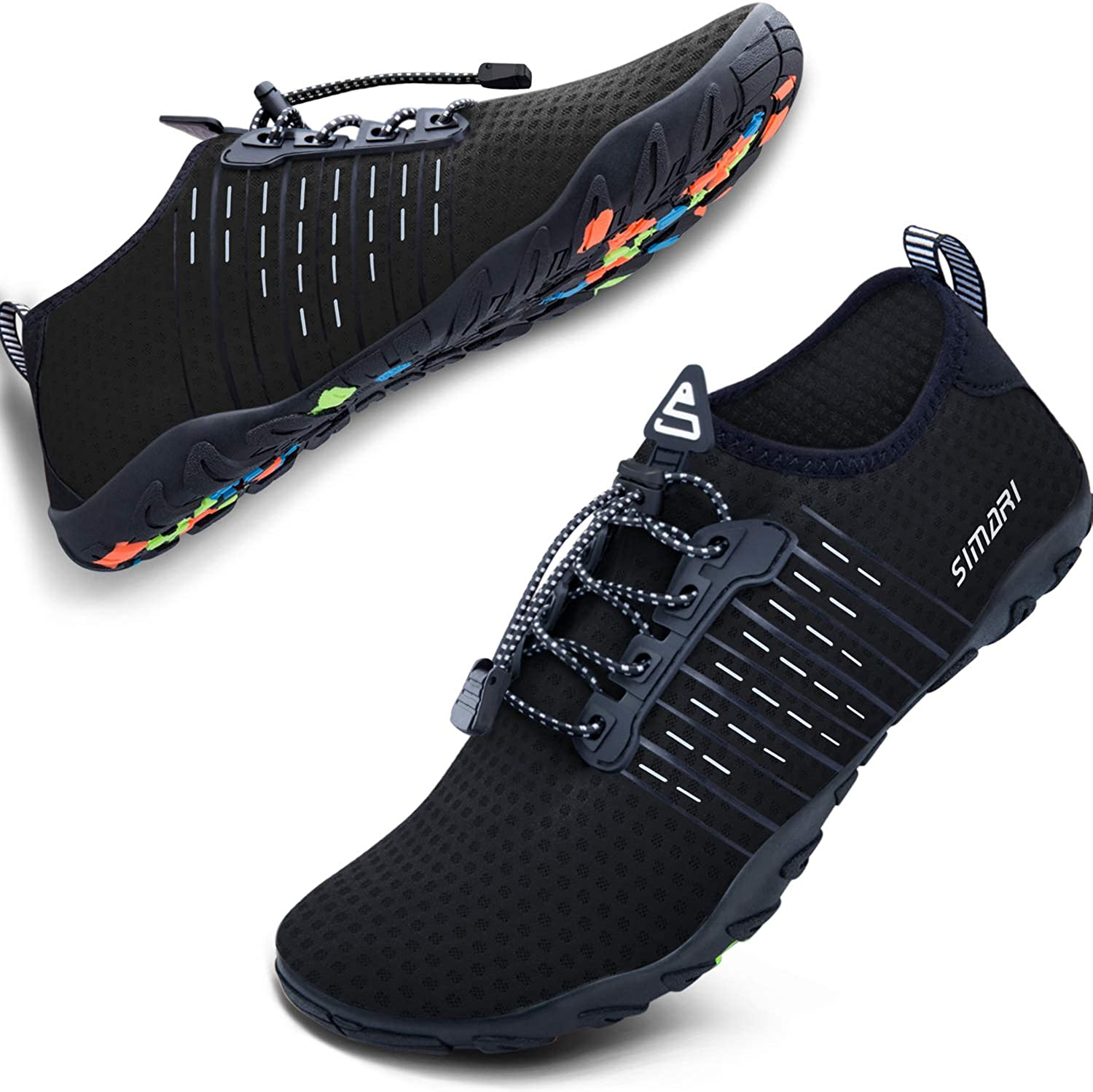Clearance SALE Store Limited time SIMARI Water Shoes Mens Womens Dry Sports Diving Barefoot Quick