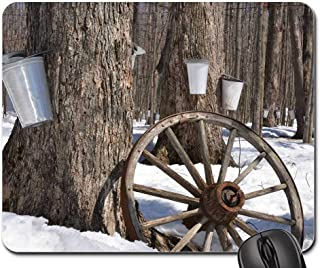 Mouse Pad - Maple Syrup Tree Maple Syrup Sap Sugar Spring