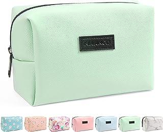 کیف لوازم آرایشی کوچک کیف دستی ، کیف لوازم آرایشی مسافرتی مسافرتی MAANGE کیف دستی PU چرمی قابل حمل چند منظوره زیپ زنانه (سبز)