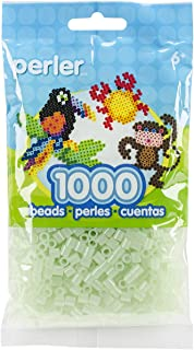 Perler Beads Fuse Beads for Crafts, 1000pcs, Green Glitter Fairy Dust