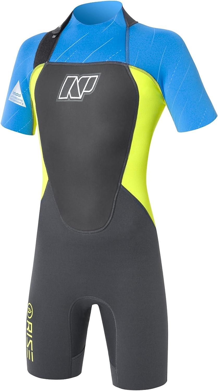 NP Surf Junior Rise Short Sleeve 3//2mm Springsuit