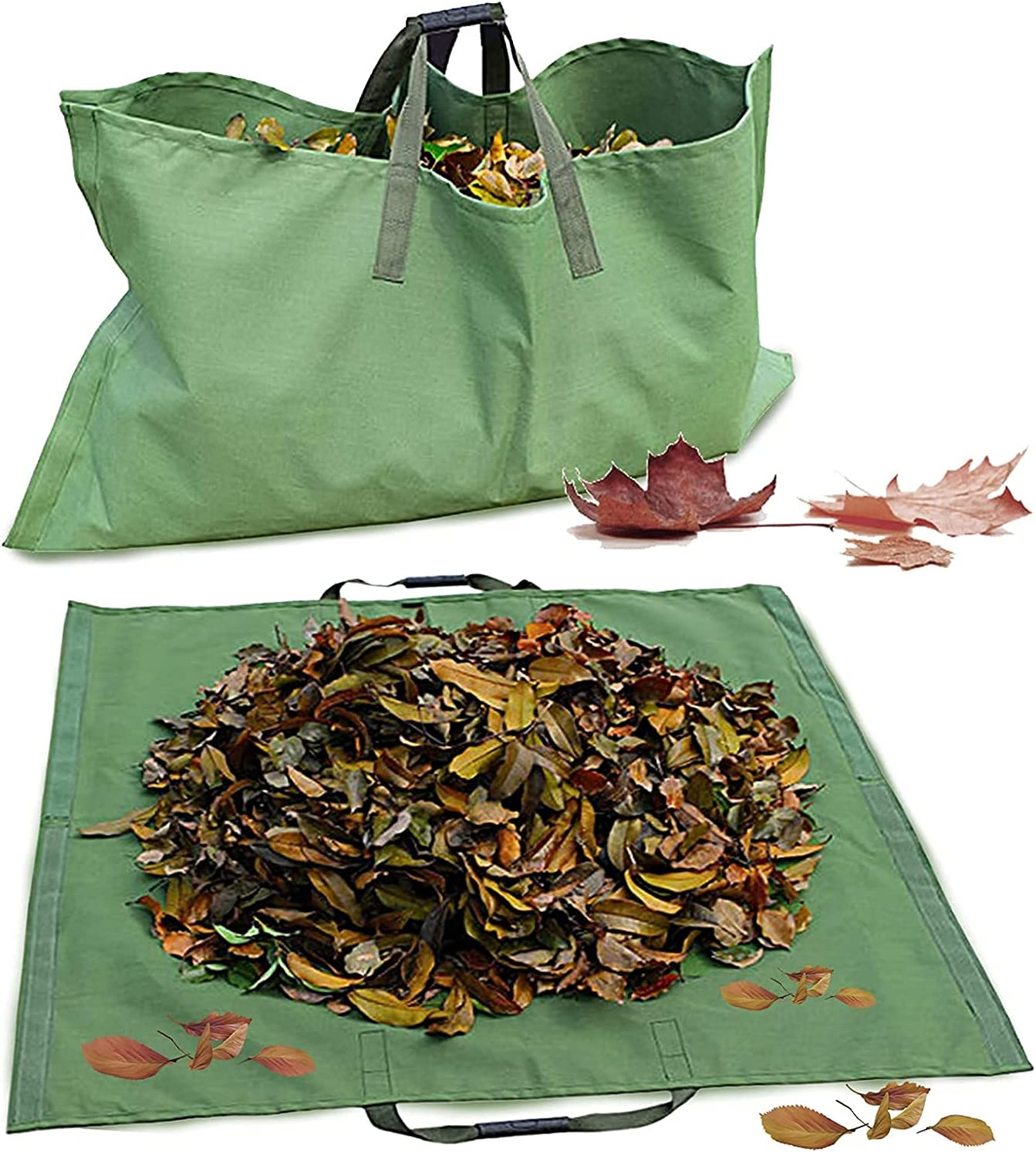 Leaf Bag Branded goods 2 IN 1 Reusable Water Garden Lawn Award-winning store Container Yard Waste