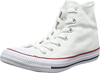 9a0bac7e28a4 Mens Converse Chuck Taylor All Star High Top Sneakers (Optical White