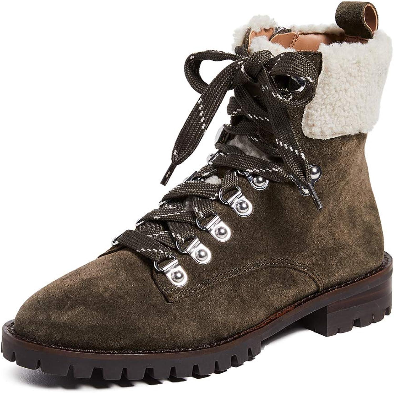 Rebecca Minkoff Women's Jaylin Combat Boots
