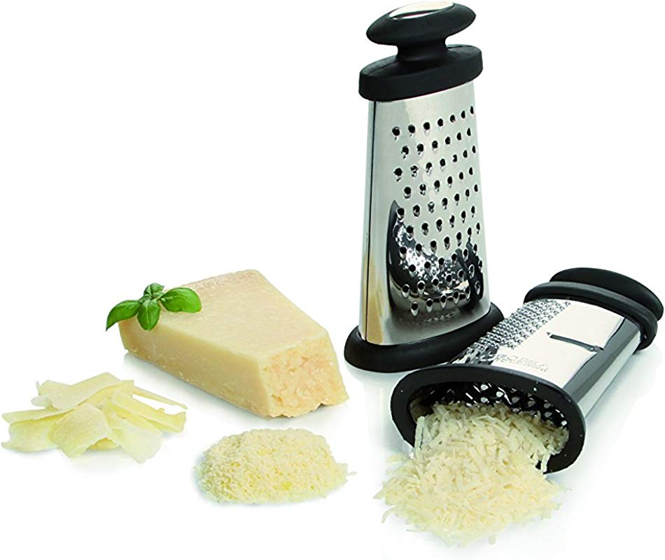 Boska Holland Compact Table Grater 3 Different Grating Surfaces Stainless Steel Explore Collection