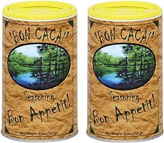 Bon CaCa Cajun Creole Louisiana All Purpose Seasoning, 8 Ounces (Pack of 2)