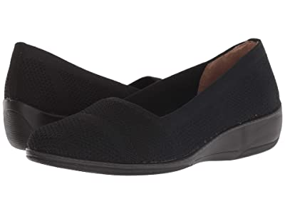 LifeStride Immy (Black Knitweave) Women