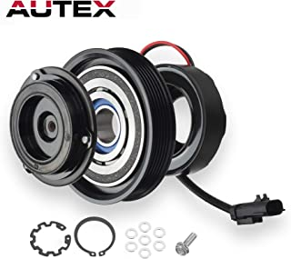 AUTEX A/C Compressor Clutch Assembly Kit for 01-03 Chrysler Voyager 01-07 Chrysler Town & Country 01-07 Dodge Caravan 01-07 Dodge Grand Caravan