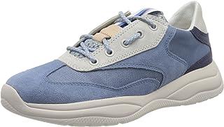 Geox D Smeraldo A, Sneakers Basses Femme