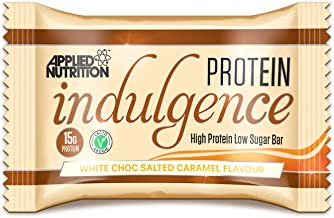 Applied Nutrition Protein Indulgence Bar 12x50g White Chocolate Salted Caramel Estimated Price : £ 25,90