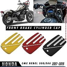 LoraBaber Slider de cadre de protection de moto /pour Honda Rebel CMX 500//300 2017 2018 2019 Housse de protection anti-crash moteur Crash Pad Noir