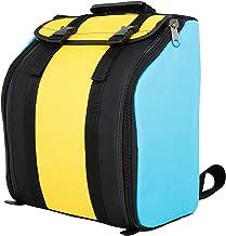 Queenser Saco de acordeão Gig Bag para acordeão de 22 teclas e 8 baixo com alças de mochila ajustáveis Acolchoamento macio...