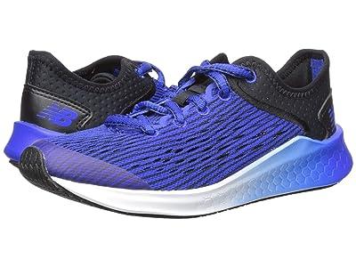New Balance Kids Fresh Foam Fast (Little Kid/Big Kid) (Black/UV Blue) Boys Shoes
