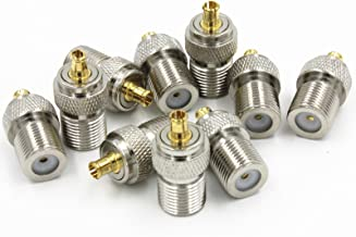 1 x New F Female Jack to MCX Male Plug RF Coaxial Connector Adapter high quality quick ship from US