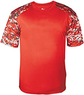 Men's Athletic Antimicrobial Digital T-Shirt