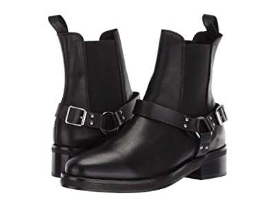 AllSaints Salome Biker Boot (Black) Women