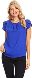 Best royal blue blouse womens Reviews