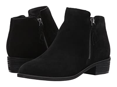 Blondo Liam Waterproof Bootie (Black Suede) Women