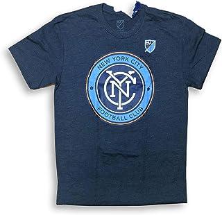 OTS New York City NYC Football Club FC Crew Neck Adult Men`s T-Shirt
