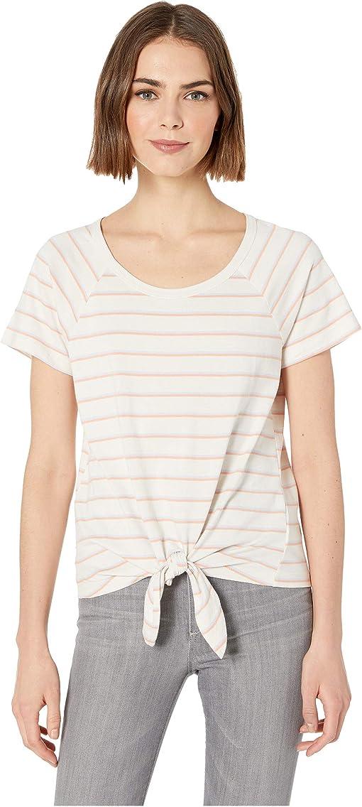 Washed Tangerina/Washed Perwink Stripe