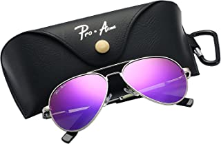 7ff066143a Pro Acme Small Polarized Aviator Sunglasses for Kids and Youth Age 5-18