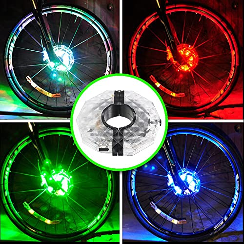 Bicycle Accessories 32 Rgb Leds Bicycle Spokes Lights Color Changing Bicycle Light Tyre Tire Valve Caps Spoke Wheel Light Bike Light Lamp 2018 Sports & Entertainment