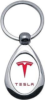 Tesla Schlüsselanhänger Bullit, Metall, silberfarben, Modell 1