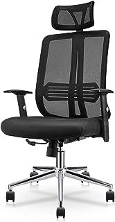 East Oak Office Chair Ergonomic Desk Chair Mesh Computer Chair with Lumbar Support Adjustable Headrest Task Chair Comforta...