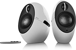 Edifier e25HD Luna Eclipse HD 2.0 Bluetooth Speakers with Digital Optical Input - White