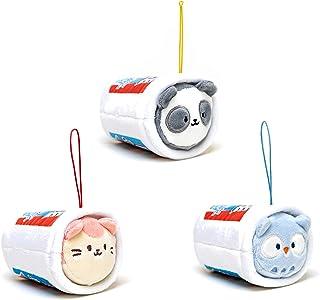 "[3-in-1] Anirollz x Nissin / Heinz / ICEE 3"" Plush Keychain Bag Charm Soft Squishy Stuffed Animal Ornament Set of 3 (Aniro..."