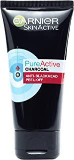 Garnier PureActive Charcoal Anti-Blackhead Peel Off Mask 50ml