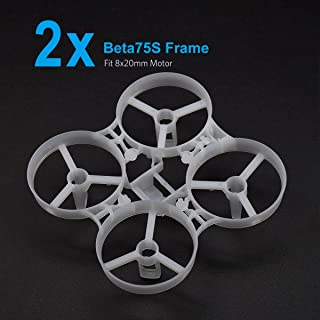 BETAFPV 2pcs Beta75S 75mm Micro Whoop Frame Kit Compatiable for 8x20mm Brushed Motors Beta75S Micro Whoop Drone