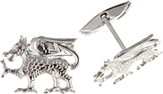 KnSam Stainless Steel Tie Clips for Mens Fishbone Silver Tie Bar
