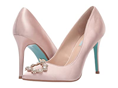 Blue by Betsey Johnson Reign Pump (Nude) Women