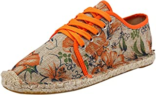 Lvguang Hommes Chaussures Baskets Style Décontracté Chaussures Plates Chaussures de Toile Espadrilles